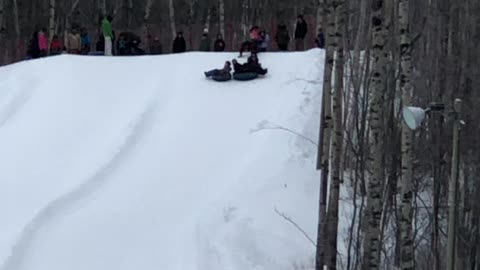 Sliding Fun With Family