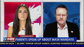 Stop Masking Kids! CCDF's Jimmy Nelson Joins OAN's Caitlyn Sinclair