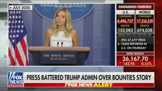 Kayleigh McEnany on Russian bounty story