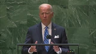 """Joe Biden confuses the United Nations with """"the United States"""" at his UN speech"""