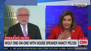 Pelosi Acts Like a Complete Lunatic During CNN Interview