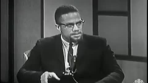 """Malcolm X: """"I Don't Believe In Any Form of Segregation or Any Form of Racism"""""""