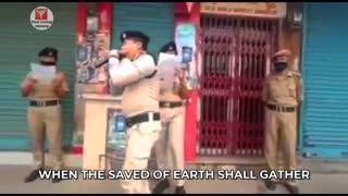 Indian Lockdown _ Police Sing Hymns