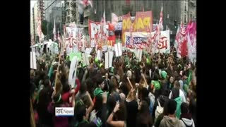 Argentina says No to abortion 9th August 2018