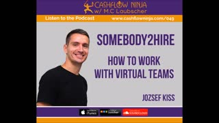 Jozsef Kiss Shares How To Work With Virtual Teams