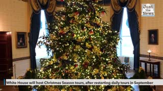 White House will host Christmas Season tours, after restarting daily tours in September