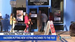 Hacking Your Vote - Vote Machine Hacking - Las Vegas - 2019