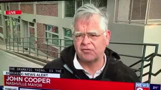 John Cooper Such a happy Mayor of a City Nashville Just Exploded