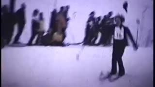 Eielson AFB (Alaska) Winter Carnival Trick Ski Jump