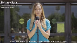 Brittney Kara: Our Children Are Being Destroyed By Vaccines & More