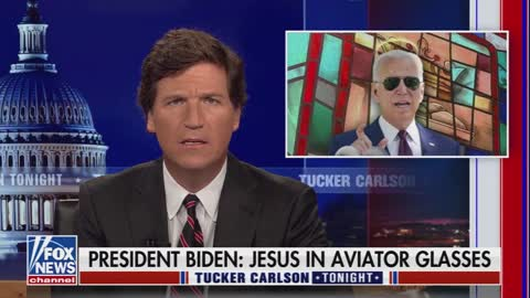 "Tucker: Media Committed a ""Series of Symbolic Sex Acts"" on Biden After His Speech"