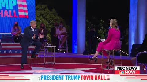 """Unhinged NBC """"Moderator"""" Turns Town Hall Into Heated Debate With Trump"""