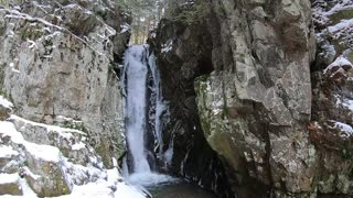 Springtime Waterfall
