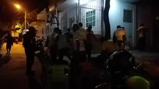 Fiesta en la calle