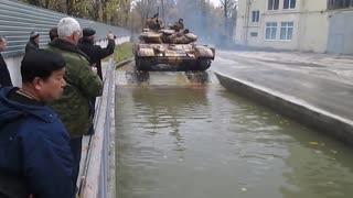 Tank drifting