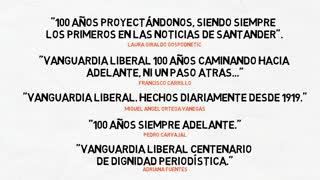 100 años Vanguardia Liberal