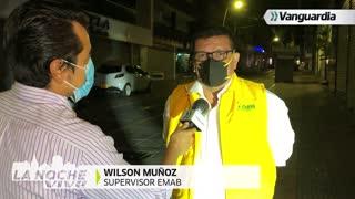 La Noche Vive: Operarios de aseo