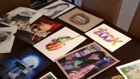 Twelve-year-old girl producing art so realistic people question if she really did it