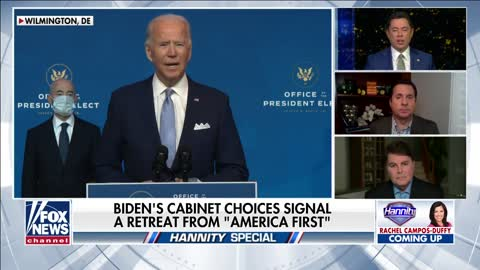 Biden Cabinet picks want reversal of Trump's 'America First' policies