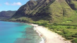 mountain beach valley