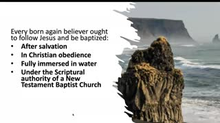 Water Baptism Versus Baptism with the Holy Ghost