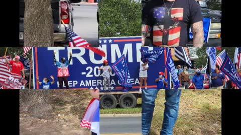 McAllen Trump Train 10/17/20