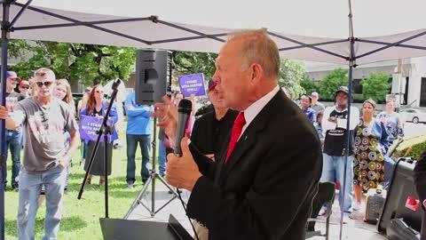Judge Roy Moore speech representing Tony Spell