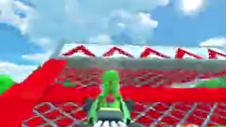 Mario Kart Tour - Yoshi Circuit R/T Gameplay (Mario vs. Luigi Tour)
