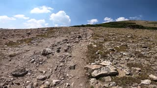 Eagles Nest Wilderness - Hiking loop over Buffalo Mountain from Frisco Colorado