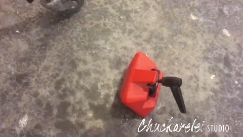 DIY sandbag counter weight substitute