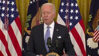 """Biden """"It's still a question if the federal government can mandate the whole country..."""