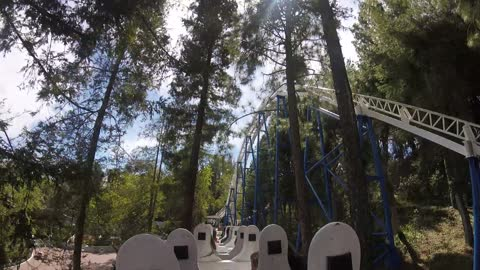 The New Revolution at Six Flags Magic Mountain