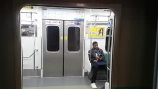 Video of entering the subway in Korea