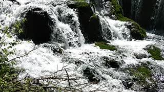 Roughlock Falls,Spearfish Canyon waterfalls