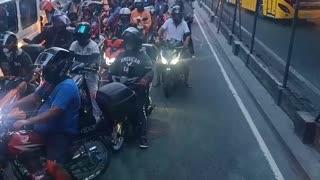 Wrong Way Traffic Causes Chaos