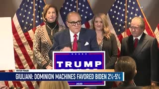 Giuliani: Dominion Machines Gave Biden 2%-5% Advantage, 4 States Considering De-Certifying Results