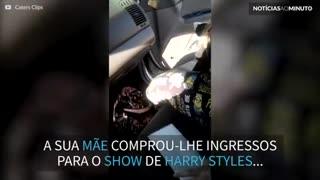 Super fã de Harry Styles ganha ingresso para show!