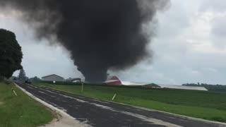 Aftermath of Sheboygan Falls Plane Crash
