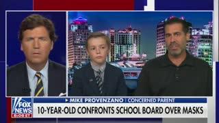 10-Year-Old Begs School Board To End Mask Mandate