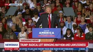 FULL SPEECH: President Donald Trump speaks at Save America Rally in Sarasota, Fla.
