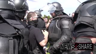 WATCH: The Capitol Police Look Like Rambo and RoboCop on Steroids!