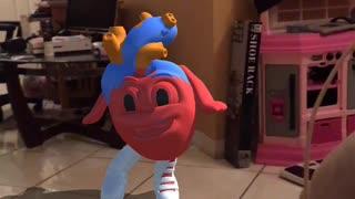 Strawberry dancing