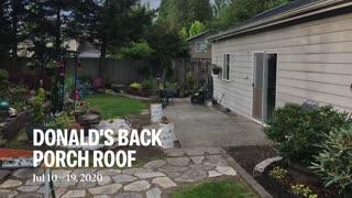 DONALDS Back Porch Roof