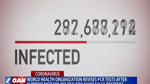 "World Health Organization revises PCR tests after current method yielded too many ""false positives"""