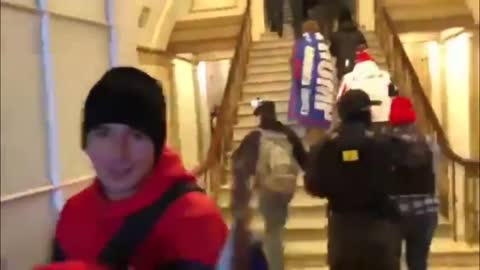 Capitol Police Removing Barricades, Opening Doors, & Waving In Protesters   The Washington Pundit