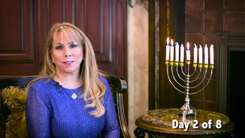Day 2 of the 8 Lights of Hanukkah Series by Victoria Sarvadi