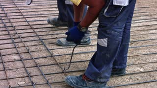 Building Construction Work Before Corona