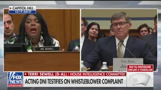 Sewell questions acting DNI in whistleblower hearing