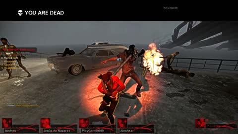 left 4 dead 2 13v13 The Sacrifice Full Match #7