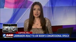 Lawmakers react to Joe Biden's congressional speech